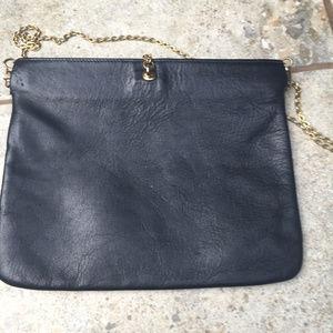Vintage Etra Leather Clutch